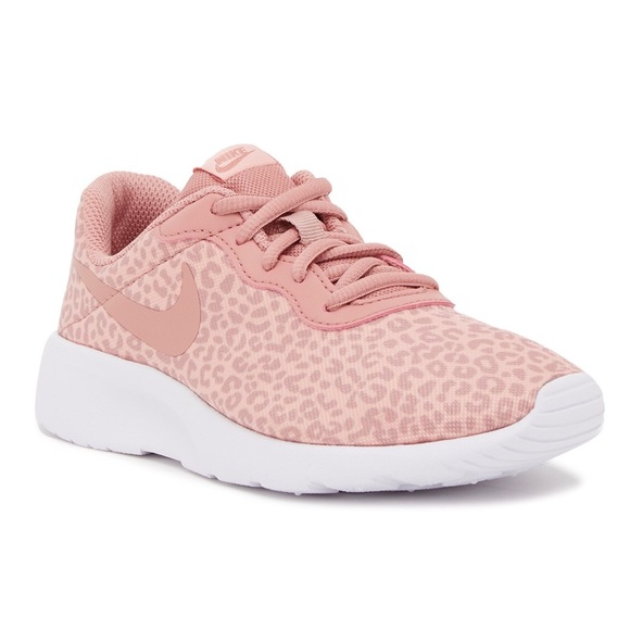 good looking so cheap on feet shots of Nike Tanjun Pink Leopard Shoes | 5Y (6.5W)